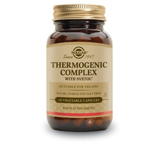 SOLGAR Thermogenic complex 60vegetable capsules