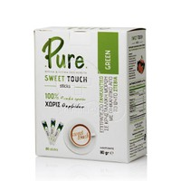 Pure  - Sweet Touch Green Stevia, 80 φακελάκια, 80gr