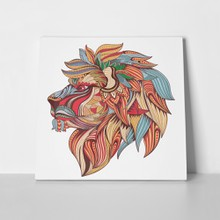 Lion profile colors 424465672 a