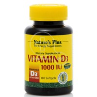 NATURE'S PLUS - Vitamin D3 1000IU - 180softgels