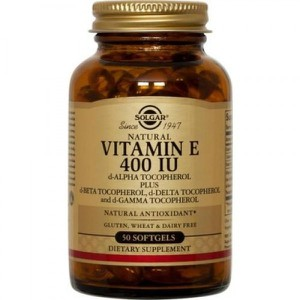 SOLGAR Vitamin E 400iu 268mg 50softgels