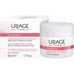 Uriage Roseliane Creme Riche Anti-Rougeurs 50ml