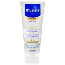 Mustela Nourishing Lotion With Cold Cream - Βρεφικό Παιδικό Γαλάκτωμα Σώματος για Ξηρό Δέρμα, 200ml
