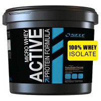 SELF OMNINUTRITION MICRO WHEY ACTIVE STEVIA 4KG CHOCOLATE