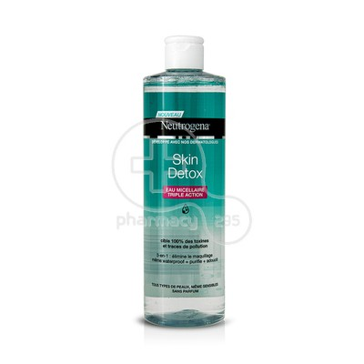 NEUTROGENA - SKIN DETOX 3 in 1 Eau Micellaire Triple Action - 400ml