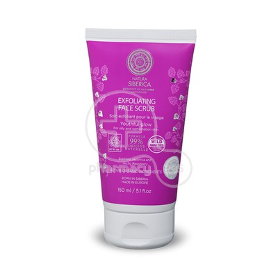 NATURA SIBERICA - Exfoliating Face Scrub - 150ml Oily/ Combination Skin