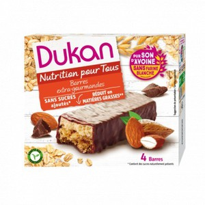 Dukan expert oatmeal wafers with chocolate  4 pcs