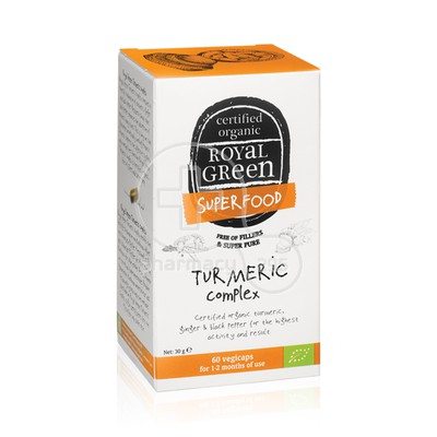 ROYAL GREEN - SUPERFOOD Turmeric Complex - 60caps