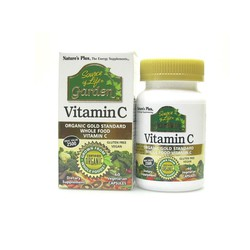 Nature's Plus Garden Vitamin C 60 Veg.Caps