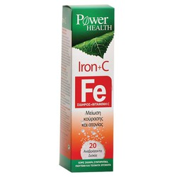 Power Health Iron + C 20eff.tabs
