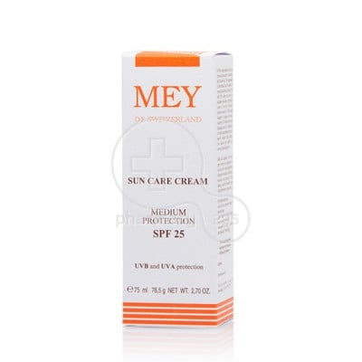 MEY - Suncare Face & Body Cream Medium Protection SPF25 - 75ml