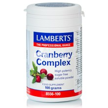 Lamberts CRANBERRY COMPLEX POWDER - Ουροποιητικό, 100gr