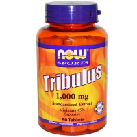 NOW SPORTS TRIBULUS 1000 MG, 90 TABS