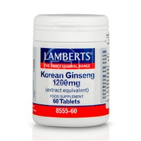 LAMBERTS - Korean Ginseng 1200mg - 60tabs