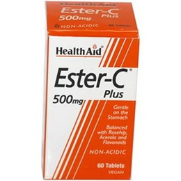 Health Aid Ester-C Plus 500mg 60Tablets