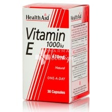 Health Aid Vitamin E 1000iu - 670mg, 30 caps