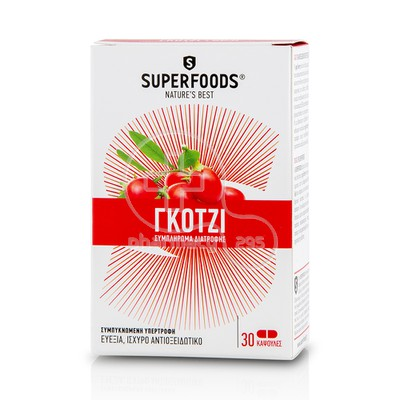 SUPERFOODS - Goji - 30caps