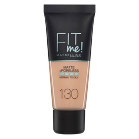 MAYBELINNE FIT ME MATTE & PORELESS FOUNDATION 130 BUFF BEIGE 30ML