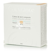 Avene Compact Mat NATUREL (2.0) SPF30 - Make up (oil-free) Κανονική Μικτή Επιδερμίδα, 10gr