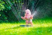 Girl toddler child summer water fun outdoor