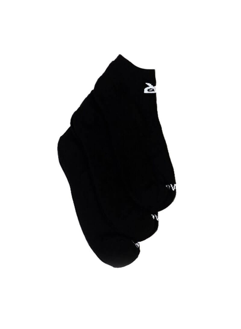 OWL CLOTHES LOW SOCKS-3 PACK BLACK