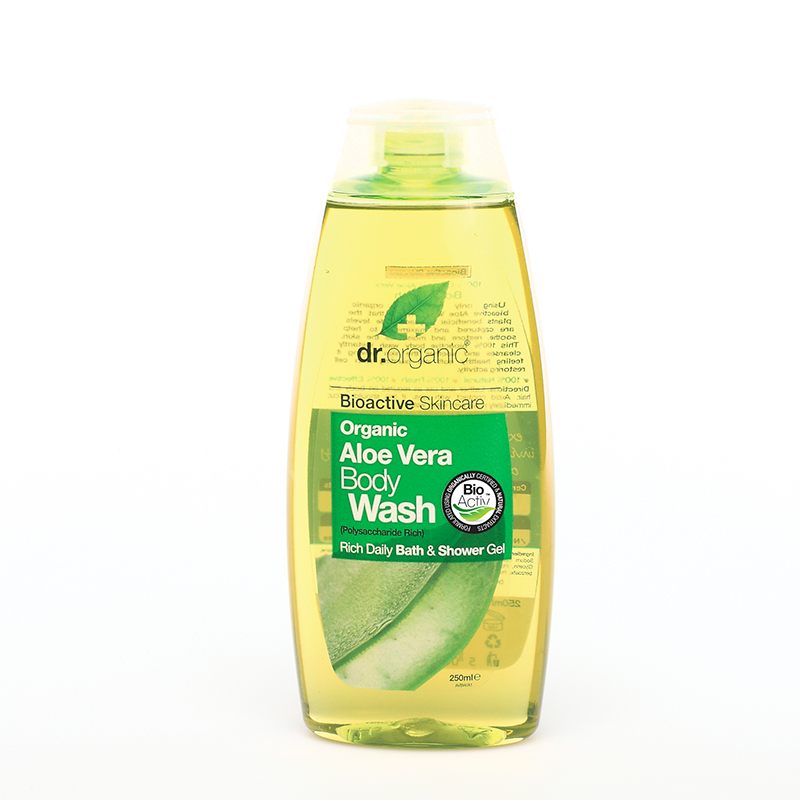 Organic Aloe Vera Body Wash 250ml