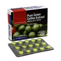 LAMBERTS GREEN COFFEE PURE EXTRACT 60TABS