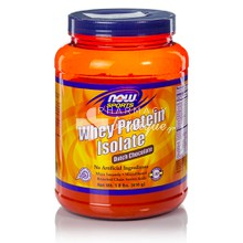 Now Sports Whey Protein Isolate - Dutch CHOCOLATE, 816 gr