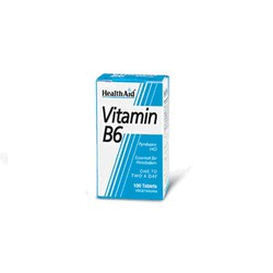 Health Aid VITAMIN B6 PYRIDOXINE 100mg