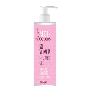ALOE+ Colors shower gel so..velvet 250ml