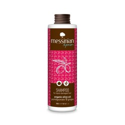 Messinian Spa Shampoo ρόδι & σταφύλι 300ml