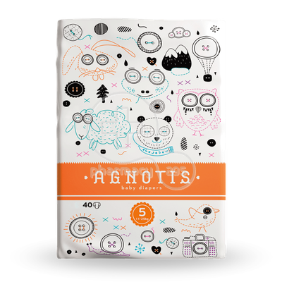 AGNOTIS - Baby Diapers Νο5 (11-25kg) - 40τεμ.