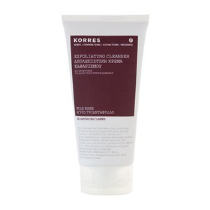 Korres exfoliating cleanser brightening 150ml