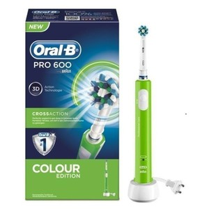 Oral b pro 600 colour green