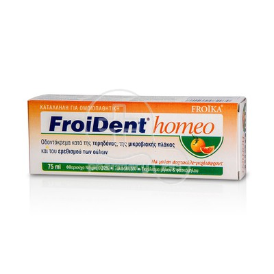 FROIKA - FROIDENT Homeo Orange-Grapafruit flavor Toothpaste 75ml