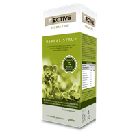 F ECTIVE HERBAL SYRUP ADULTS SUGAR FREE 200ML