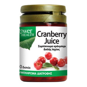 POWER HEALTH Cranberry juice 30 δισκία