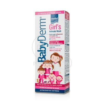 INTERMED - BABYDERM Girl's Intimate Wash - 300ml