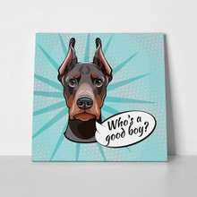 Head face doberman pinscher 1012550113 a