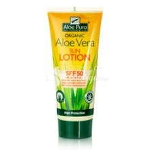 Optima Aloe Vera Sun Lotion SPF50, 200ml