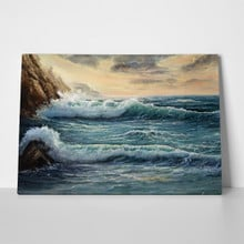 Sea shore oil painting 477629122 a