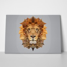 Polygonal lion 741077386 a