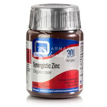 Quest Synergistic ZINC 15mg (& Copper), 30 tabs