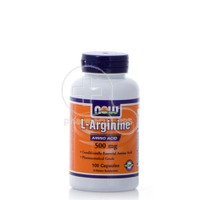 NOW - L-Arginine 500mg - 100caps