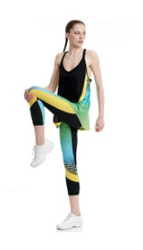 FIT&THECITYW HIGHWAIST LEGGINGS 7/8 # 80% PES 20%