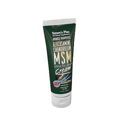 Nature's Plus Glucosamine Chondroitin MSM Cream 118ml