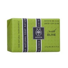 Apivita Natural Soap με Ελιά 125gr