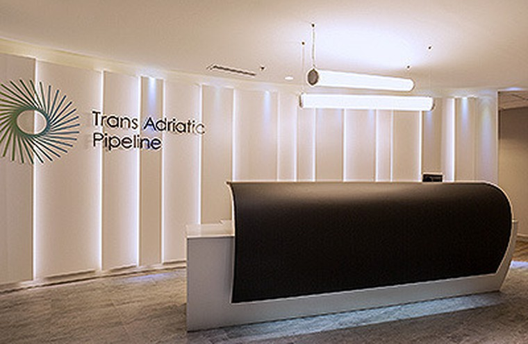 Trans Adriatic Pipeline new offices!