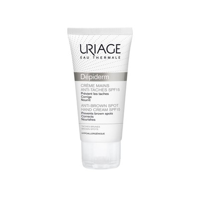 Uriage - Depiderm Creme Mains Anti Taches SPF15 - 50ml