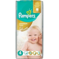 Pampers Premium Care No4 8-14kg 52 Πάνες